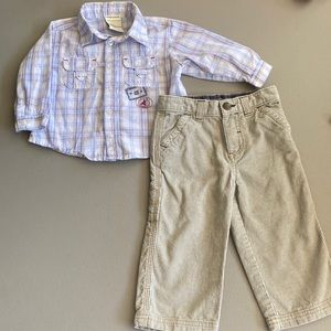 🍁 Boys 18 month outfit